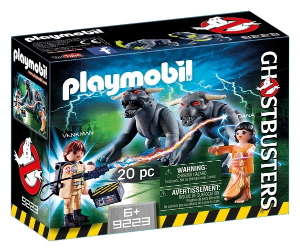 Venkman and Terror Dogs, Playmobil Ghostbusters (9223)