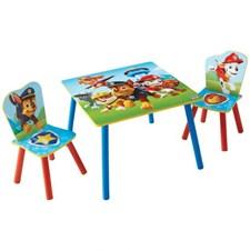 Möbelset, Bord & 2 stolar, Paw Patrol