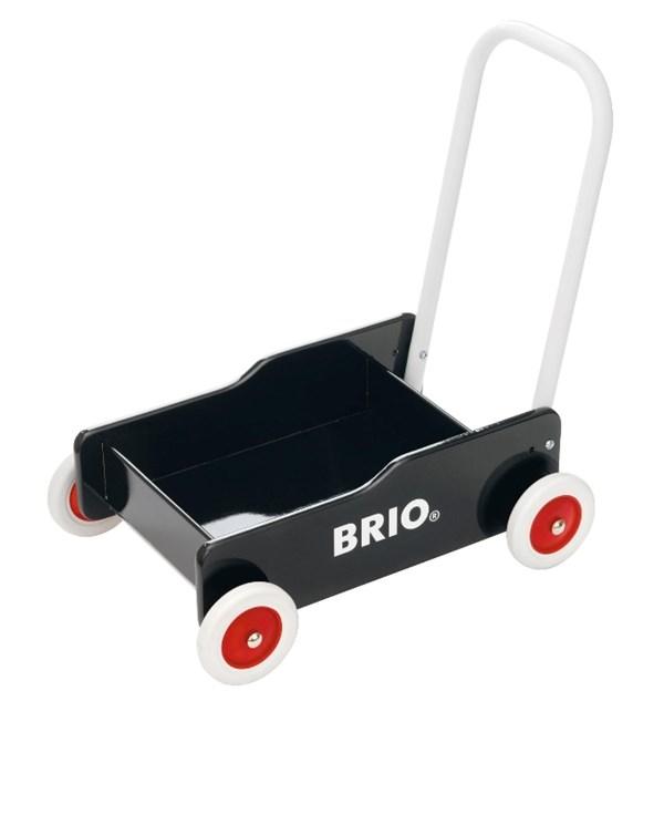 Brio Lära Gå Vagn, Svart