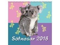 Väggkalender Sötnosar - 1784
