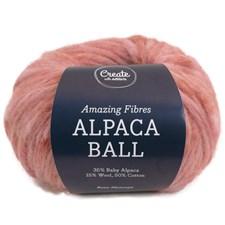 Adlibris Alpaca Ball 50g Rose Melange A703