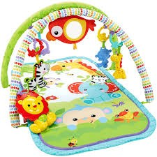 3-i-1 Musical Babygym, Rainforest Friends, Fisher-Price