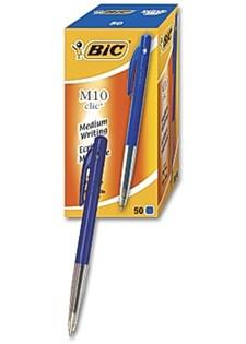Kuulakärkikynä BIC Clic M10 sininen arkistokelpoinen