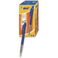 Kulpenna BIC Clic M10 blå dokumentäkta