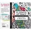 Aikuisten värityskirja, koko 10,5x14,5 cm,  20 , Flights of Fancy, 1kpl
