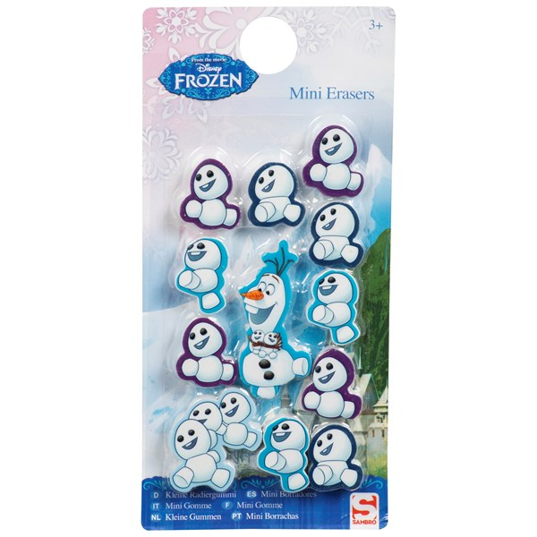 Suddgummi mini, 12-pack, Disney Frozen