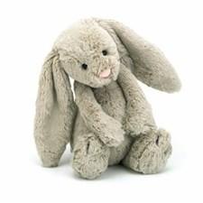Pehmolelu Bashful Bunny, Beige, Jellycat, 31cm