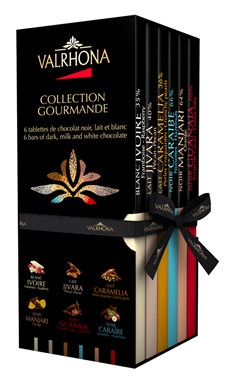 Valrhona Chokladbox Gourmet Collection 6x85 g Mix