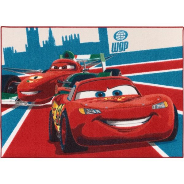 Matta  McQueen & Frances  Disney Cars - barnmattor