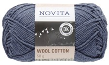 Novita Wool Cotton Garn Ullmix 50 g