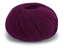 Dale Garn Pure Eco Baby Wool Lanka Ekologinen Villa 50 g burgundi 1322