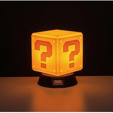 Super Mario Question Block 3D Lampe