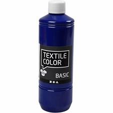 Textilfärg 500 ml Primärblå