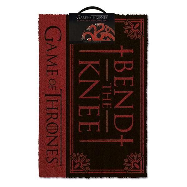 Game Of Thrones Dörrmatta Bend The Knee  Pyramid International