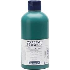 Schmincke AKADEMIE® Akrylmaling, 500 ml, phthalo green (551)