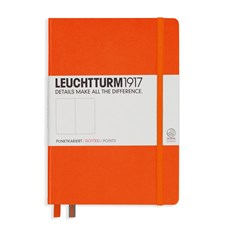 LT NOTEBOOK A5 Hard orange 249 p. dotted