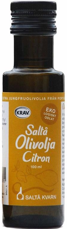 Saltå Kvarn Olivolja Citron 100 ml