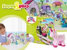FIMO® KIDS Leire, Leiresett, Skap og lek, Ponny