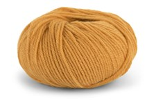 Knit At Home Classic SW Wool Garn Ullgarn 50 g Ockra 421