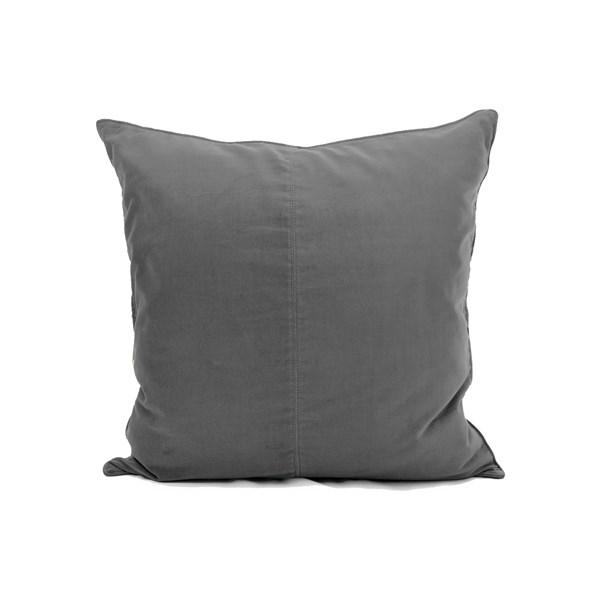 Ceannis Velvet Kuddfodral 50 x 50 cm New grå - prydnadskuddar
