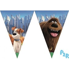 Husdjurens Hemliga Liv Flagg-Banner