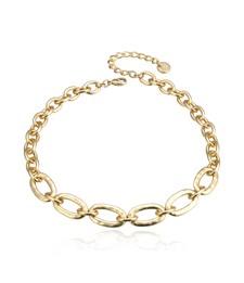 Choice Kort Halsband Guld