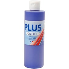 Plus Color-askartelumaali, 250 ml, ultramariini