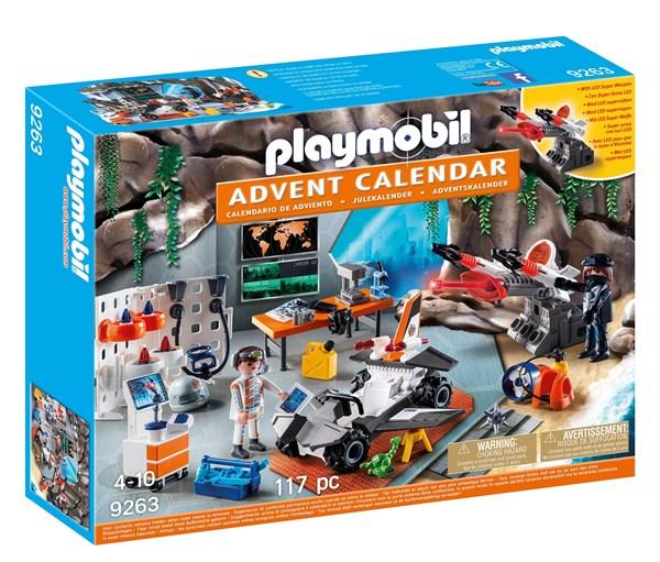 Adventskalender, Spy Team-verksted, Playmobil Top Agents (9263)