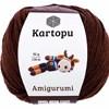 Kartopu Amigurumi 50g Dark Brown K890