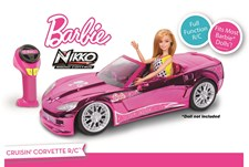 Barbie Crusin' Corvette, Nikko