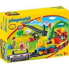 Min första tågbyggsats, Playmobil (70179)