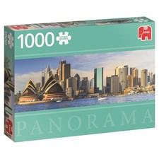 Sidney, Panorama-puslespill, 1000 brikker, Jumbo