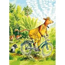 Mamma Mu och Kråkan cyklar affisch