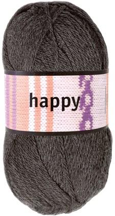 Happy Garn Ullmix 100 g Koksgrå (52103)