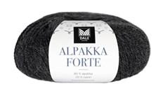 Dale Garn Alpakka Forte 50 g harmaan musta meleerattu 710