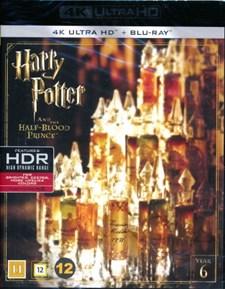 Harry Potter 6: Halvblodsprinsen - 4K Ultra HD Blu-ray