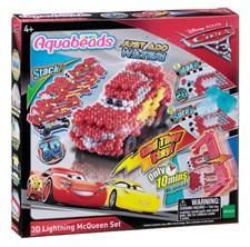 Blixten McQueen 3D, Cars 3, Aquabeads