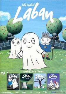 Lilla Spöket Laban - 4 filmer (4-disc)