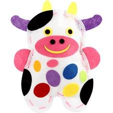 DIY-askartelupakkaus, koko 14x20 cm, lehmä - Celina, 1set