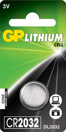 Knappcellsbatteri Lithium CR2032 3 V