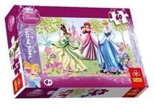 "Disney Princess ""Stroll in the Garden"", palapeli, 60 palaa, Trefl"