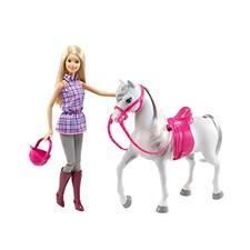 Barbie med häst