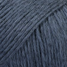 Bomull- Lin Drops design 50 g dark blue 21