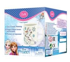 Måla din egen mugg, Olof, Disney Frozen