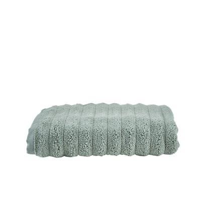 Handduk Wave Ljusgrön 70x140 cm  Bahne & Co - badlakan & handdukar