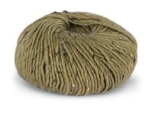 Du store Alpacka Tweed Garn Alpacka Ullmix 50 g Gyllen Gulgrön 111