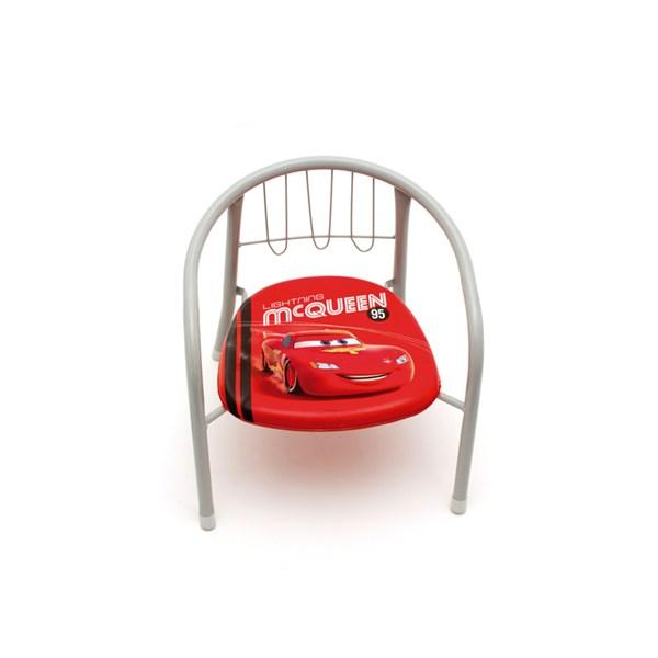 Stol  Grå röd  Disney Cars - barnmöbler