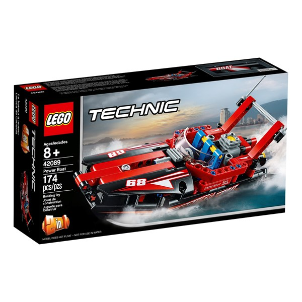 Racerbåt, LEGO Technic (42089)