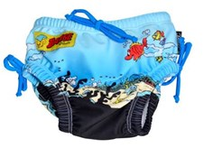 Badblöja Nappy Bamse, Blå, Swimpy