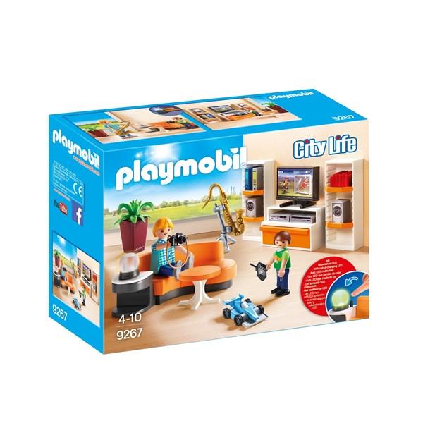 Vardagsrum  Playmobil City Life (9267) - playmobil